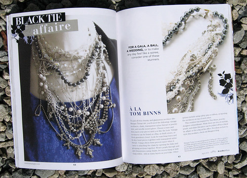Jewelry Affaire Spring 2010 Tom Binns Necklace DIY | by ...love Maegan