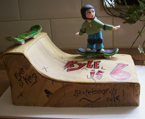 How To Make A Skateboard Cake Video
