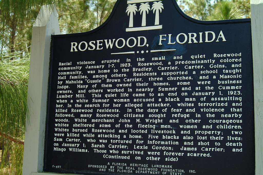 File Rosewood Florida Rc12409 Jpg: The Rosewood Massacre- How One Woman's Lie Started A Race