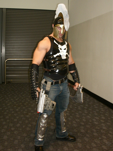 Wondercon 2010 Moonstar & ARES god of war | Dats right ...