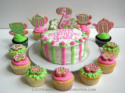 Cake Design For 7th Birthday Girl : Gabi s 7th birthday cake For my daughter s best friend ...