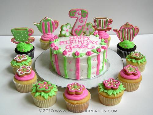 Gabi's 7th birthday cake | For my daughter's best friend ...