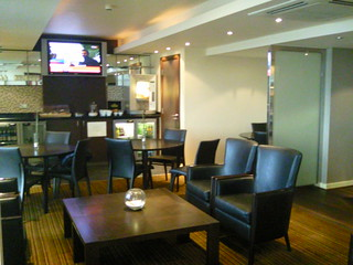 Club lounge at crowne plaza nottingham my review of the no