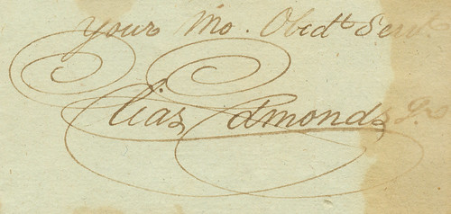 A Lovely Signature, 1796 | by DukeUnivLibraries