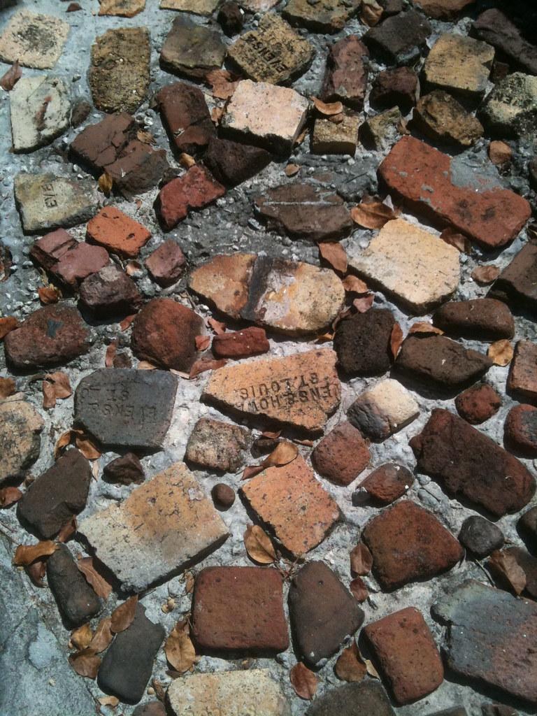 Hope Town Recycled Bricks As Pavers John Lane Flickr