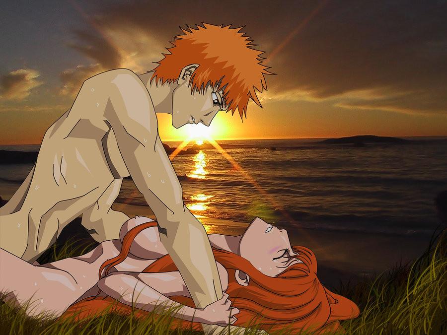 Rukia and ichigo porn