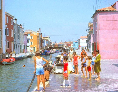 Burano Canal and People | by kentclark333