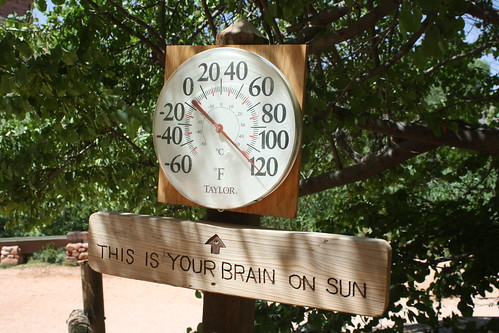It S 120 Degrees At Indian Garden Campground Grand Canyon Flickr