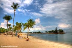 Singapore Siloso Beach HDR by Aorian