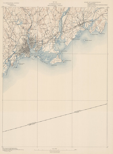 Bridgeport Sheet 1889 - USGS Topographic 1:62,500 | by uconnlibrariesmagic
