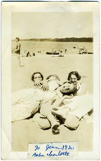 Snapshot: Four-Part Damsel Grope, One Laughing [Jo Jean Babe Charlotte 1930] | by mrwaterslide