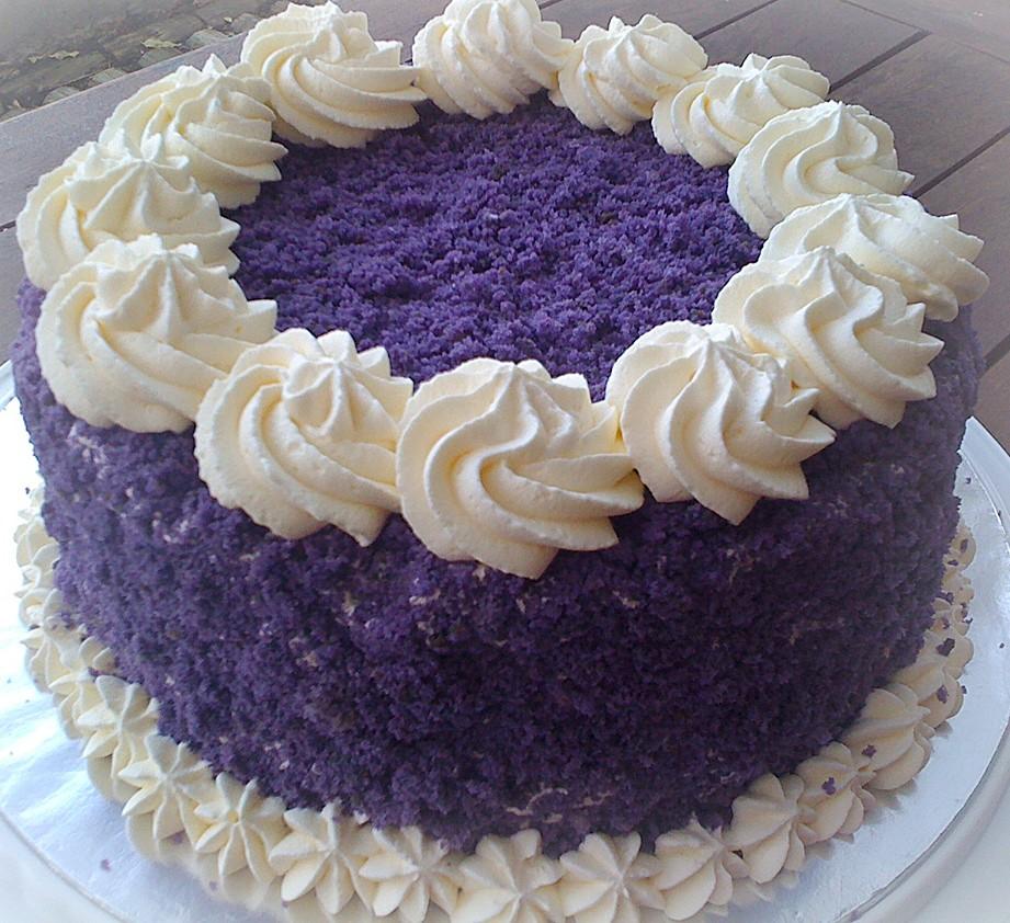 Easy Ube Cake Recipe
