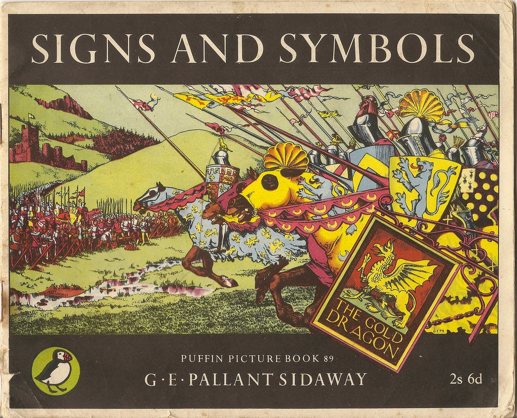 Puffin Picture Books No89 Signs Symbols By G E Pallan Flickr