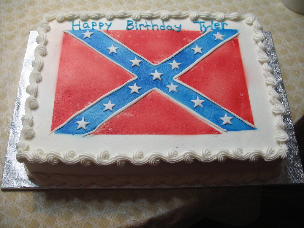 Rebel Flag Cake Pan