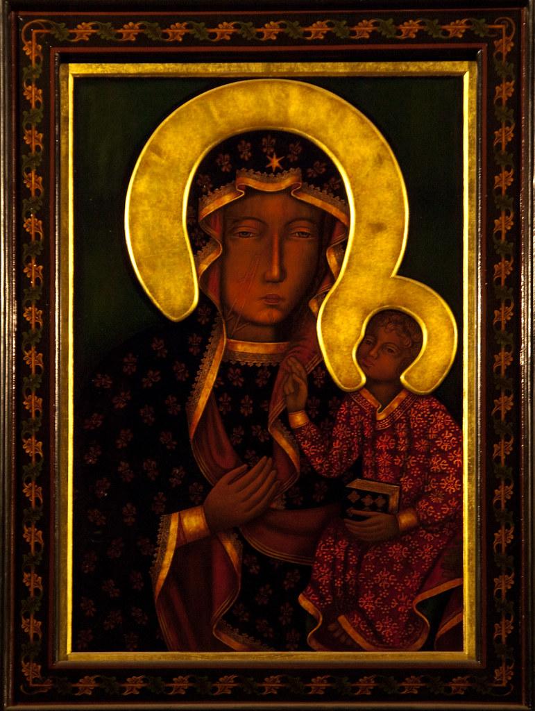"""Résultat de recherche d'images pour """"Icône de Notre-Dame de Czestochowa"""""""