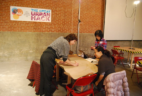 Hacks + Hackers in action! | by eyebeamnyc