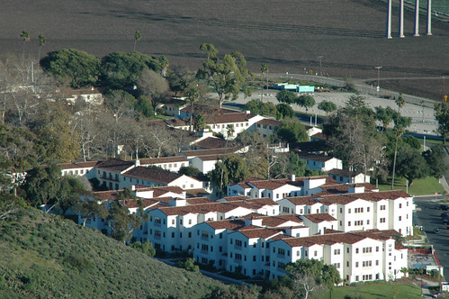 Anacapa Village view from Round Mountain | by California State University Channel Islands