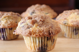 blueberry muffins | by Madison Bistro