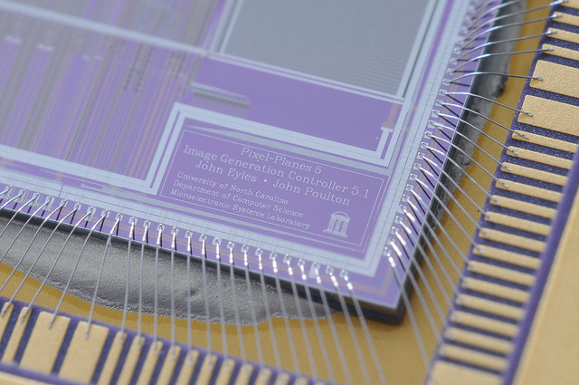 University CPU Die macro | This is a super close macro of ...