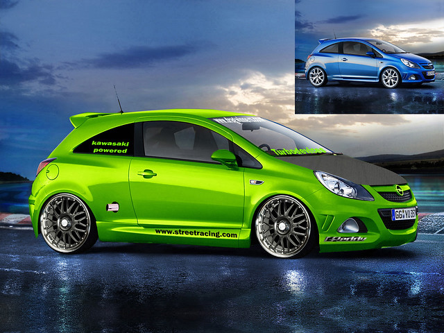 opel corsa opc virtual tuning jimgreetingsfromgreece. Black Bedroom Furniture Sets. Home Design Ideas