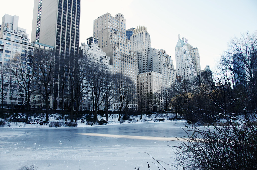Central park winter it is as cold as it looks brrrr for Places to visit outside of new york city