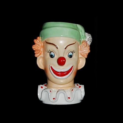 Napco C3321b Clown Head Vase A Jolly Clown With A Big Smil Flickr