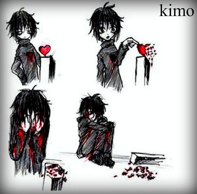 Emo Heart Break By Kimo66