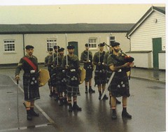 St Andrews day proceedings Guards Depot 1985