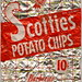 Scotties 10 cent foil bag - BBQ