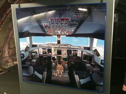 R Hogenkamp Fototapete des Cockpit...
