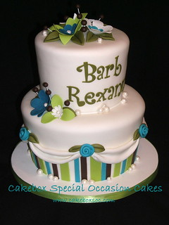 Barb & Rexann's flowers & swags | by Cakebox Special Occasion Cakes