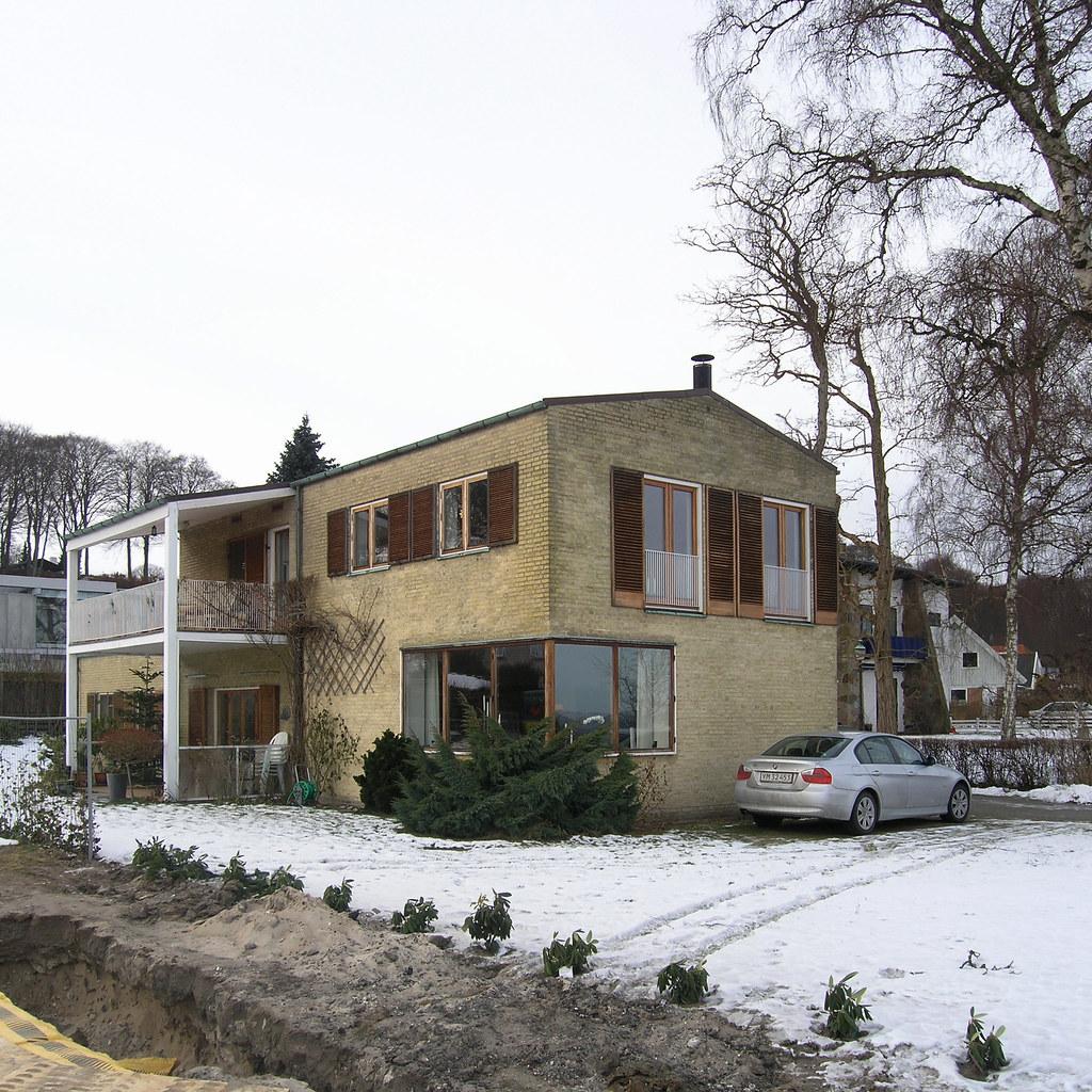 ... arne jacobsen, villa sørensen, nordre strandvej 53B, elsinore 1935 - by seier+