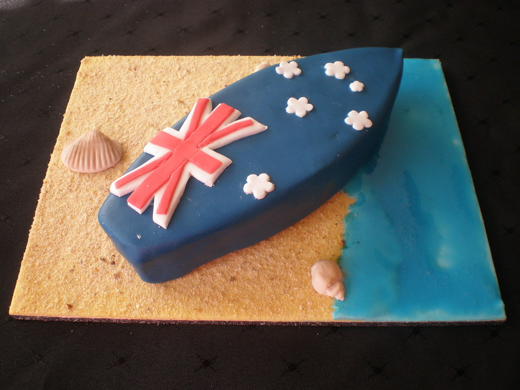 Surfboard Cake Pan