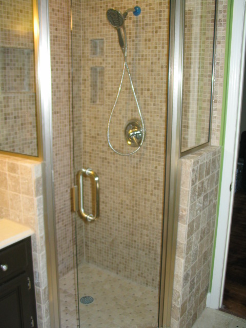 New shower stall | Before and after pictures of one of our C… | Flickr