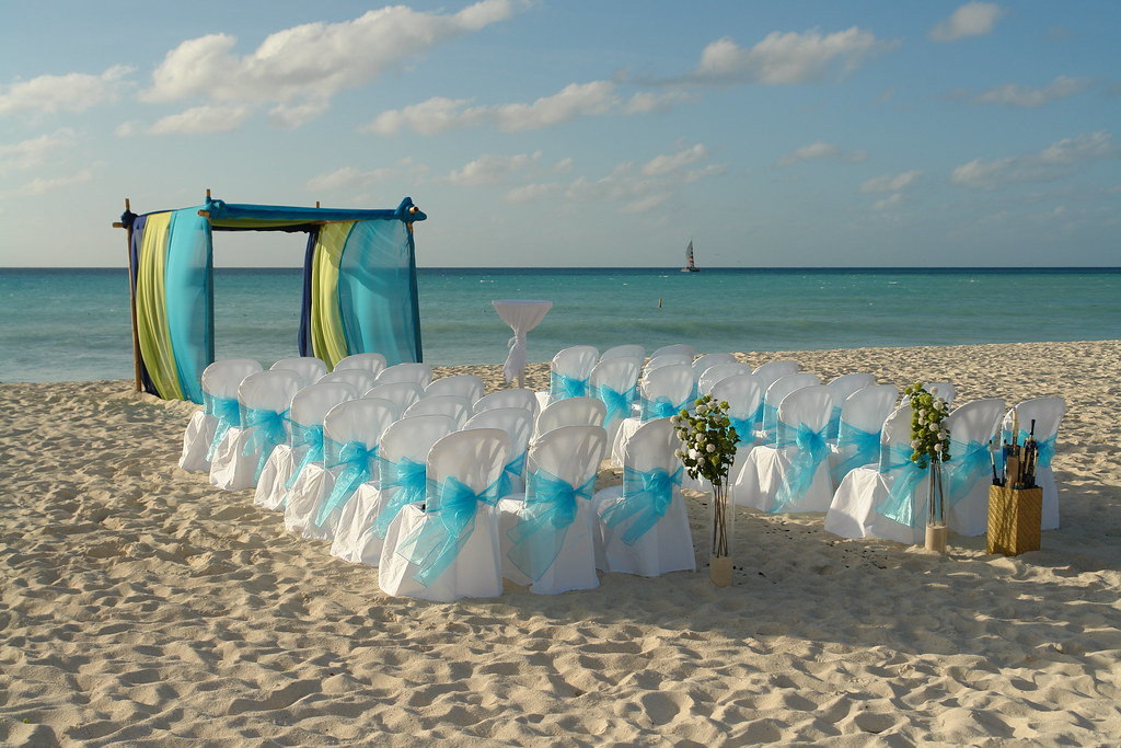 Manchebo Beach Aruba Wedding