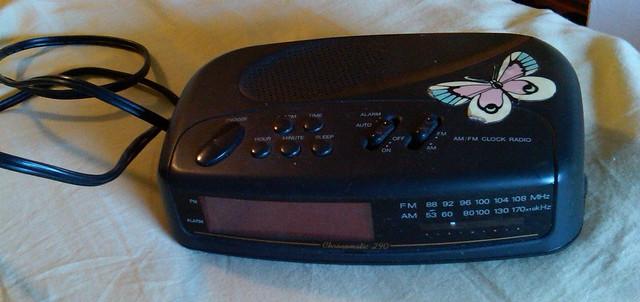 Back Up Alarm >> Alarm Clock - Radio Shack | Radio Shack Chronomatic 290, sti… | Flickr