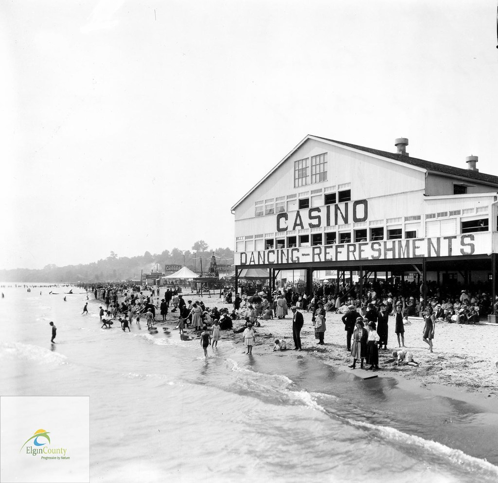Get Free Credit Report >> Hopkins Casino, Port Stanley, circa 1910 | Title: Hopkins Ca… | Flickr