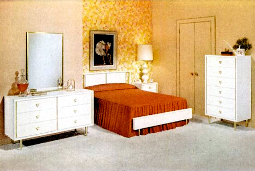 Bedroom 1962 furniture ad kimberly lindbergs flickr for 1960 bedroom furniture for sale