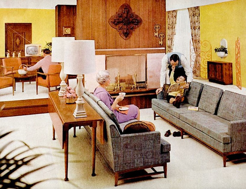 Living room 1960 kimberly lindbergs flickr for Design interior living room vintage