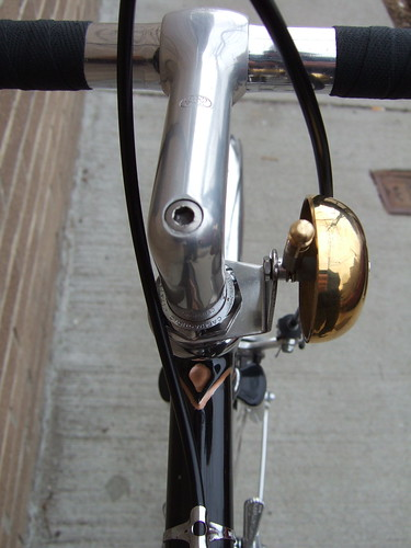 SR Royal stem with Velo Orange bell mount | by somervillebikes