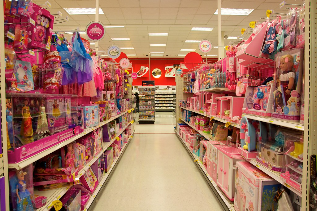 Walmart Toy Aisle Boys : The girl aisle a frequent source of parental