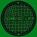 NYC SEWAGE ART REVISED green
