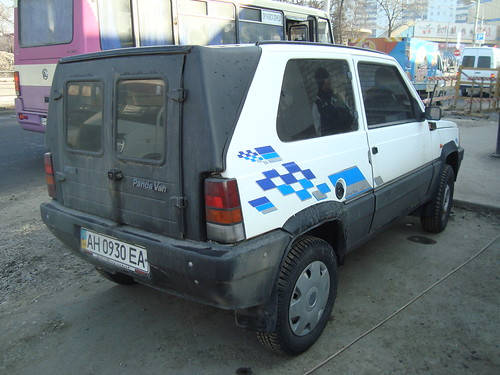 fiat panda van 23 february donetsk ukraine seen 2 in don skitmeister flickr. Black Bedroom Furniture Sets. Home Design Ideas