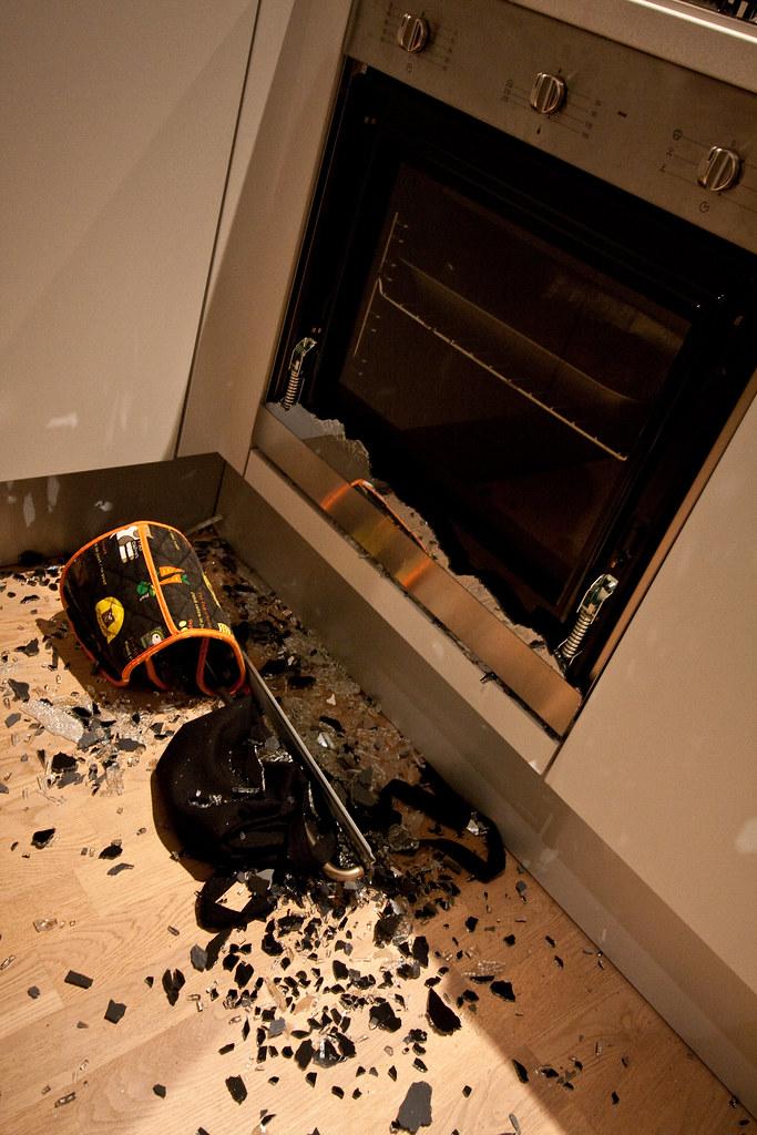 Smeg Glass Oven Door Explosion Kel Was Cooking Dinner