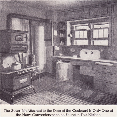 1911 Kitchen With Boiler Gas Range Source Ladies Home J Flickr
