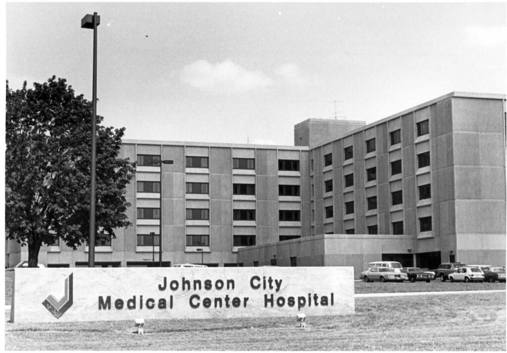 Johnson City Medical Center Hospital Front View Of The