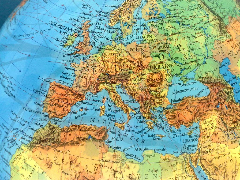 globe map 3d
