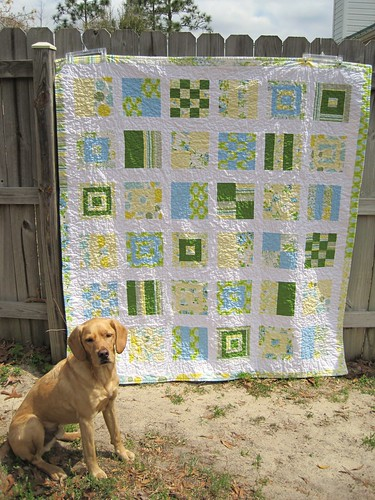 Mod Sampler quilt | by kelbysews