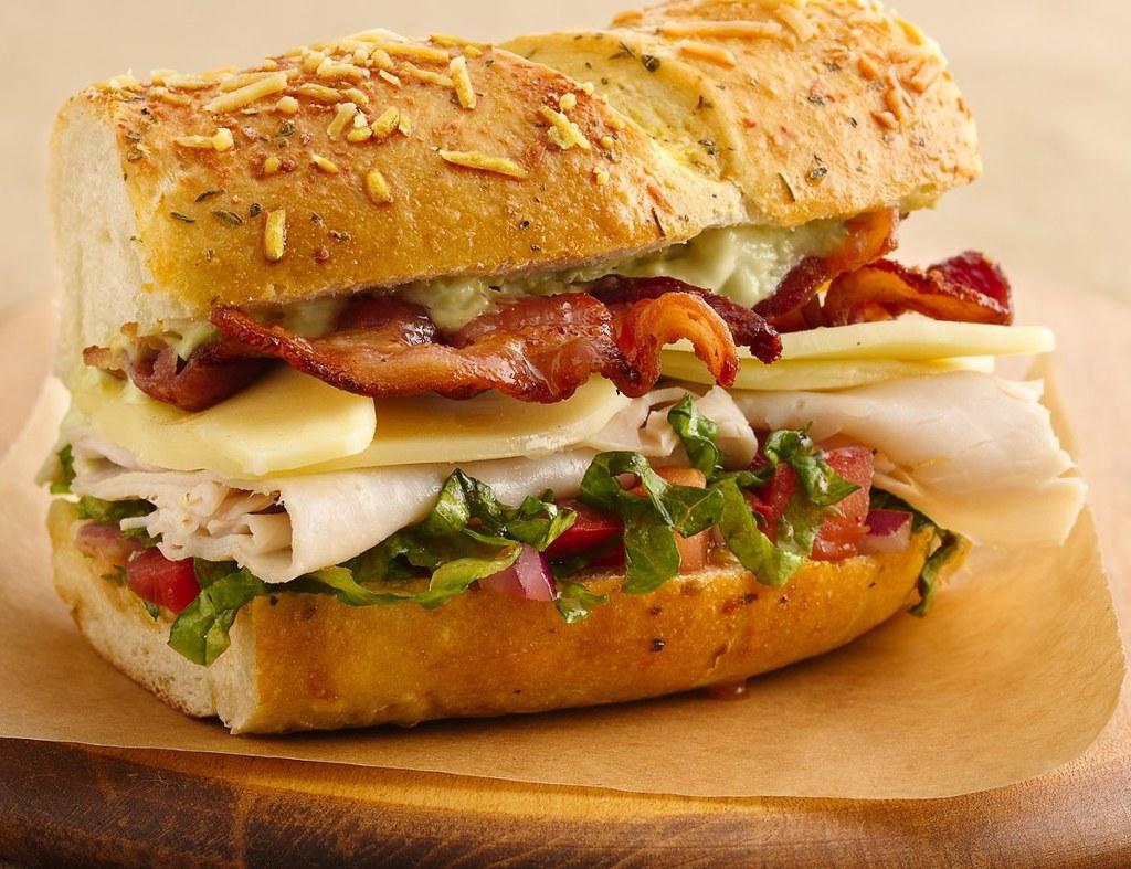 Turkey Club Sandwich Ring With Avocado Aioli Ingredients