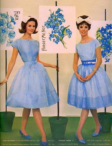 Платья из 60 х годов